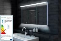 Neuesbad LED Spiegelschrank, B:1200, H:700, T:118 mm