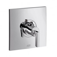 Hansgrohe Thermostat Unterputz Axor Citterio Hight Flow Fertigset chrom mit Hebelgr., 39711000