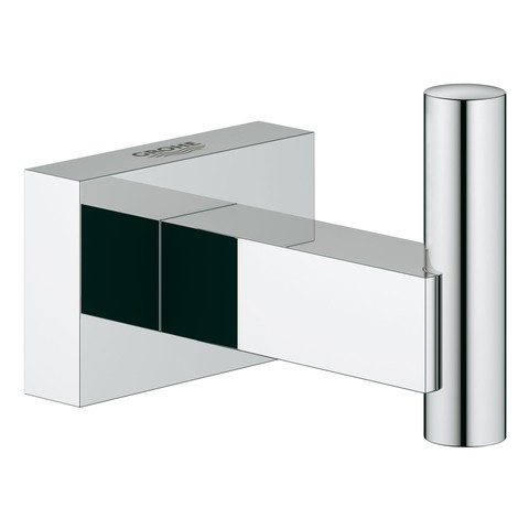 Grohe Bademantelhaken Essentials Cube 40511 Metall chrom, 40511001