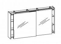 Artiqua DIMENSION 111 Schiebetürenspiegelschrank B:1250mm
