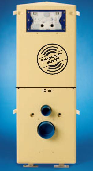 Eck-WC-Baustein, Höhe: 108 cm, 1301.III 1301.N