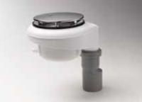 Kaldewei Spezial-Ablaufgarnitur für ESR II, senkrecht, Ablaufdeckel chrom