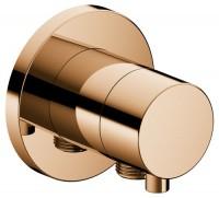 Keuco Absperrventil IXMO Comfort 59541,rund Schlauchanschluss, Bronze poliert, 59541021101
