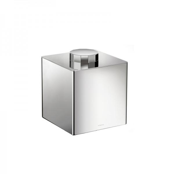 Pomdor Secret Dose Quadratisch Mit Facettierten Deckelgriff 13x13x14,7cm, Chrom, 597527002