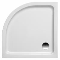 Brausetasse Kraton 1000x1000x60 mm, weiß (Radius 550 mm)