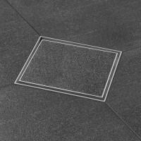 """Aqua 10x10 cm, """"Fliese"""", MSI waagerecht , DN 50"""