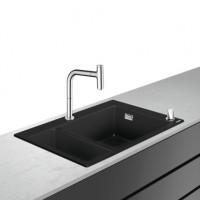 Hansgrohe Select 200 Spülencombi 635 chrom C51-F635-09, 43220000
