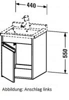 Duravit Waschtischunterschrank wandhängend Ketho T:455, B:440, H:550mm, KT6662