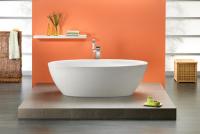 Freistehende Badewanne Latina 1900x950x460 mm, weiß