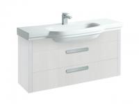 Laufen Waschtischunterbau LB³ classic 1220x370x585,2 Schubladen,weiß, 43613.2, 4361320685601