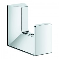 Grohe Bademantelhaken Selection Cube 40782 Metall chrom, 40782000