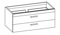 "Artiqua 412 COLLECTIN 412 Waschtischunterschrank zu ""Isabella"" K0851 B:1250mm"