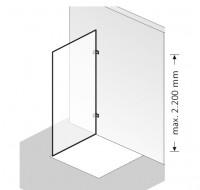 HSK Atelier Pur Seitenwand zu AP.01 - AP.108, AP.79