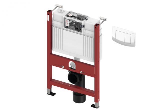 TECEbase WC-Modul mit Uni-Spülkasten inkl. TECEambia Bet.-Platte weiß,BH820mm, 9400011