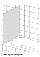 HSK K.99 Seitenwand zu Badewannenaufsätzen Kienle