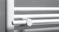Neuesbad.de Handtuchhalter 500 mm für Badheizkörper 600 mm