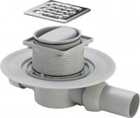 Viega Badablauf 4936.2 Kunststoff mit Rahmen aus Edelstahl