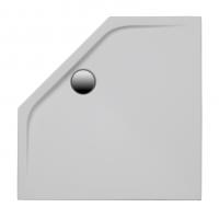 Brausetasse Maui-F 900x900x25 mm, weiß