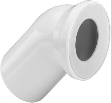 Viega WC Anschlussbogen 45 Grad 3812 in DN100 Kunststoff moosgrün