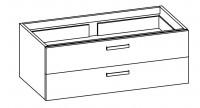 """Artiqua COLLECTION 414 Waschtischunterschrank zu""""Subway 2.0""""7176D2 B:1250mm"""