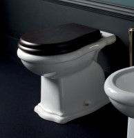 Axa one Contea Stand-WC, B: 360, T: 550, H: 400 mm, weiss