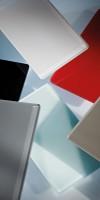 HSK Renovetro-Designplatte 100 x 255 cm, Farbe: flame-rot