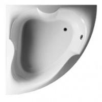 Neuesbad Acryl Eck-Badewanne L: 1500, B: 1500 mm, Farbe: weiss