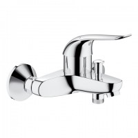 GROHE EH-Wannenbatterie Euroeco Special 32783 Wandmontage S-Anschlüsse chrom