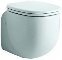 Keramag WC-Sitz 500 by Citterio 572100, Scharniere: Metall, 572100000, weiss