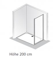 HSK Solida Seitenwand zur Kombination mit Gleittür