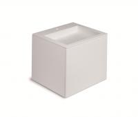 Cosmic Block Schrank 2 Schubladen mit Waschtich matt,B:600, H:520, T:500 mm