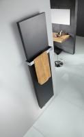 HSK Design-Heizkörper Atelier Line 608 x 1806 mm, graphit-schwarz