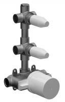 Herzbach Logic XL 2 Unterputz-Thermostat, Rohbaukörper , 11.120000.1.09