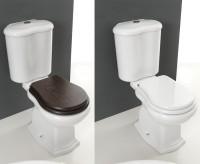 Axa one Contea Stand-WC für Kombination, B: 380, T: 720, H: 400 mm, weiss