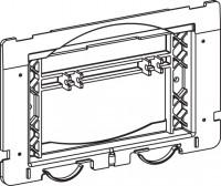 Mepa Befestigungsrahmen sun, StSt+2-Mengen UPSK-Typ A31/B31, 590237
