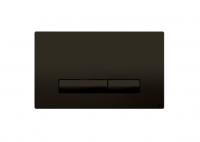 Oli Betätigungsplatte  Glam Schwarz Olipure Soft-Touch, 2-Mengen Spülung,Tiefe 6.5Mm