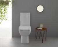 Globo DAILY Stand-Tiefspül-WC L: 65 B: 37 cm weiß, DA003BI, weiss glänzend