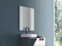 Vanita & Casa Phoenix LED-Spiegel, B: 500, H: 700 mm, mit Dimmer und Heizung