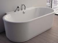 Hoesch Badewanne Foster Vorwand 1900x1020, weiß, 6478.010