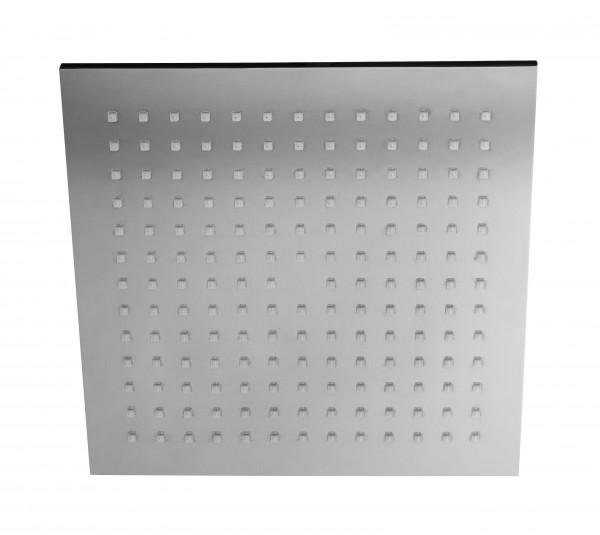 Herzbach Living Spa Slim-Regenbrause, eckige Ausführung 254mm x 254mm chrom, 11.600254.2.01