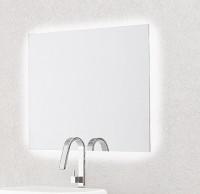 Vanita & Casa Galaxy Spiegel mit LED-Hintergrundbeleuchtung, B: 900, H: 600 mm