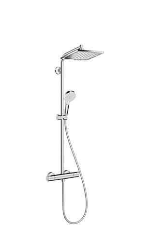 Hansgrohe Showerpipe Crometta E 240 EcoSmart chrom, 27281000