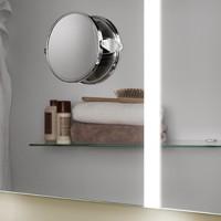 Zierath Kosmetikspiegel chrom Angel BxHxT: 135x127x29, ZANGE2201000000
