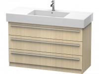 Duravit Waschtischunterschrank stehend X-Large 470x1200x740mm, 3 SchKa, f.032912 , Front/Korpus: med