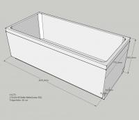Neuesbad Wannenträger für Bette Ocean 170x80 Ül.hi.
