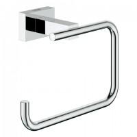 Grohe WC-Papierhalter Essentials Cube 40507 ohne Deckel chrom, 40507001