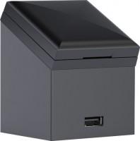 Keramag Steckdose 60x75x58mm m. USB Anschluss für Hoch- und Seitenschrank m. Tür, 501030000