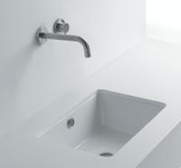 Axa one Sink Einbauwaschtisch, B: 500, T: 410, H: 190 mm, weiss