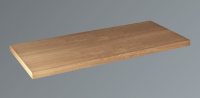 Neuesbad Konsolenplatte Trägerplatte Holz, B: 975, T:440, H:38 mm, Eiche gekälkt