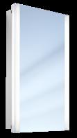 Schneider Spiegelschrank Slideline/TRI 48/FL, 2x21W 480x890x150 alueloxiert, 119.049.02.50
